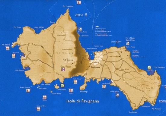 Isola di Favignana  Informazioni Turistiche generali su Isola di Favignana