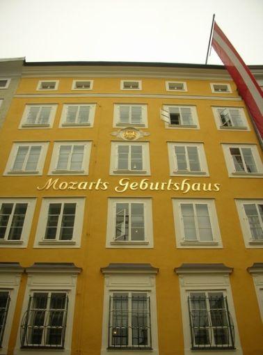 Foto Casa natale di WA Mozart a Salisburgo  408x550