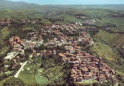 Foto Panorama dallaereo a Morlupo  415x289  Autore Redazione