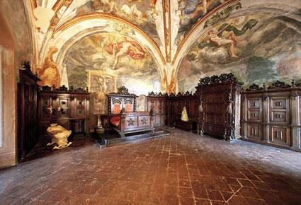 Foto Interno del castello a Montechiarugolo  425x290
