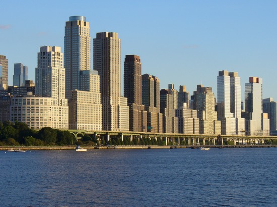 Foto Vista di Manhattan zona Columbia University a New