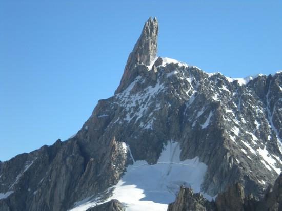 Foto Dente del Gigante  Monte Bianco a Courmayeur