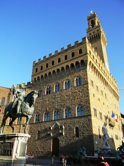 Foto Palazzo della Signoria a Firenze  412x550  Autore