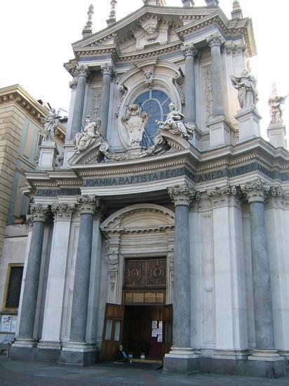 Foto chiesa barocca a Torino  412x550  Autore Claudia