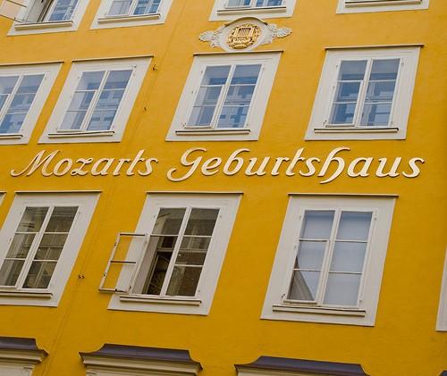 Foto casa natale di mozart a Salisburgo  500x421  Autore