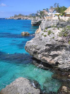 Foto Scogli sul mare a Negril  290x387  Autore Redazione