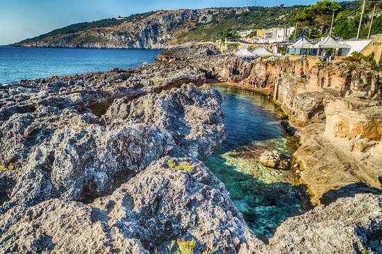 Piscina naturale di Marina Serra Tricase