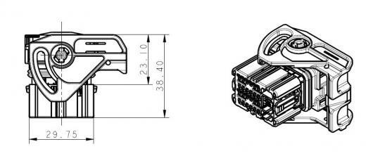 [Laguna II] Connecteur C du calculateur injection (1.9 DCI