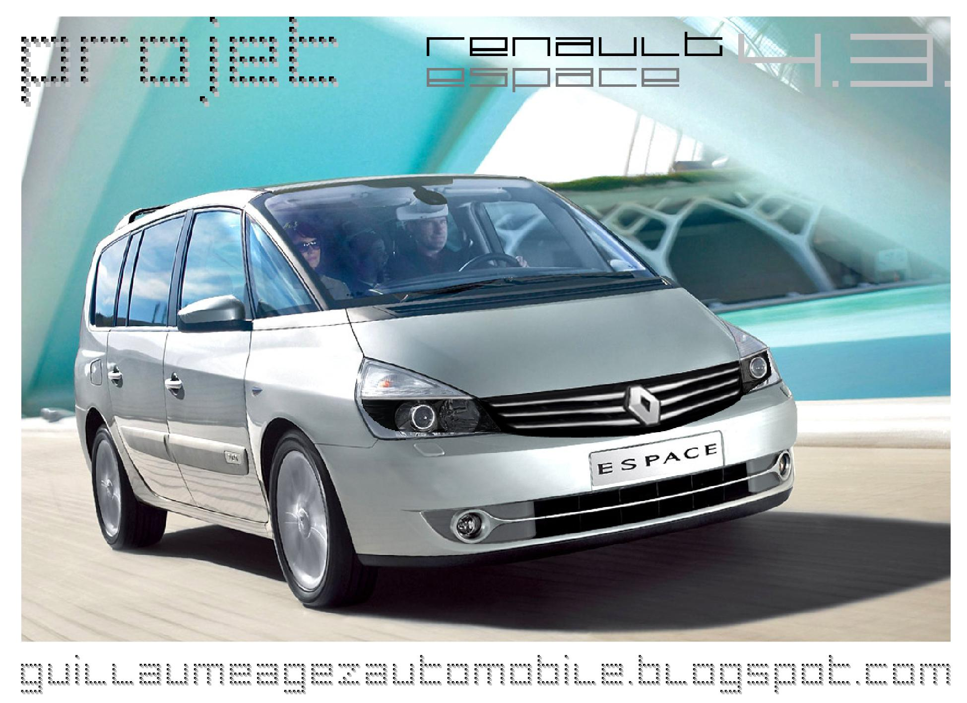 hight resolution of renault espace phase iii and iv petrol workshop manual service repair 1997 2005