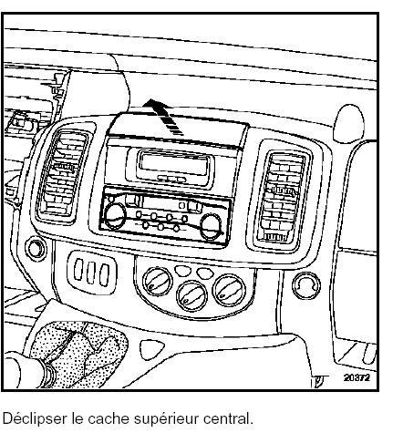 [Trafic II] Rétro-éclairage de l'afficheur Horloge/Radio