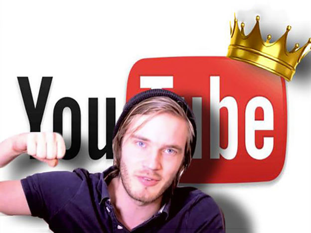 Felix Kjellberg aka [Pewdiepie](https://www.youtube.com/user/PewDiePie)