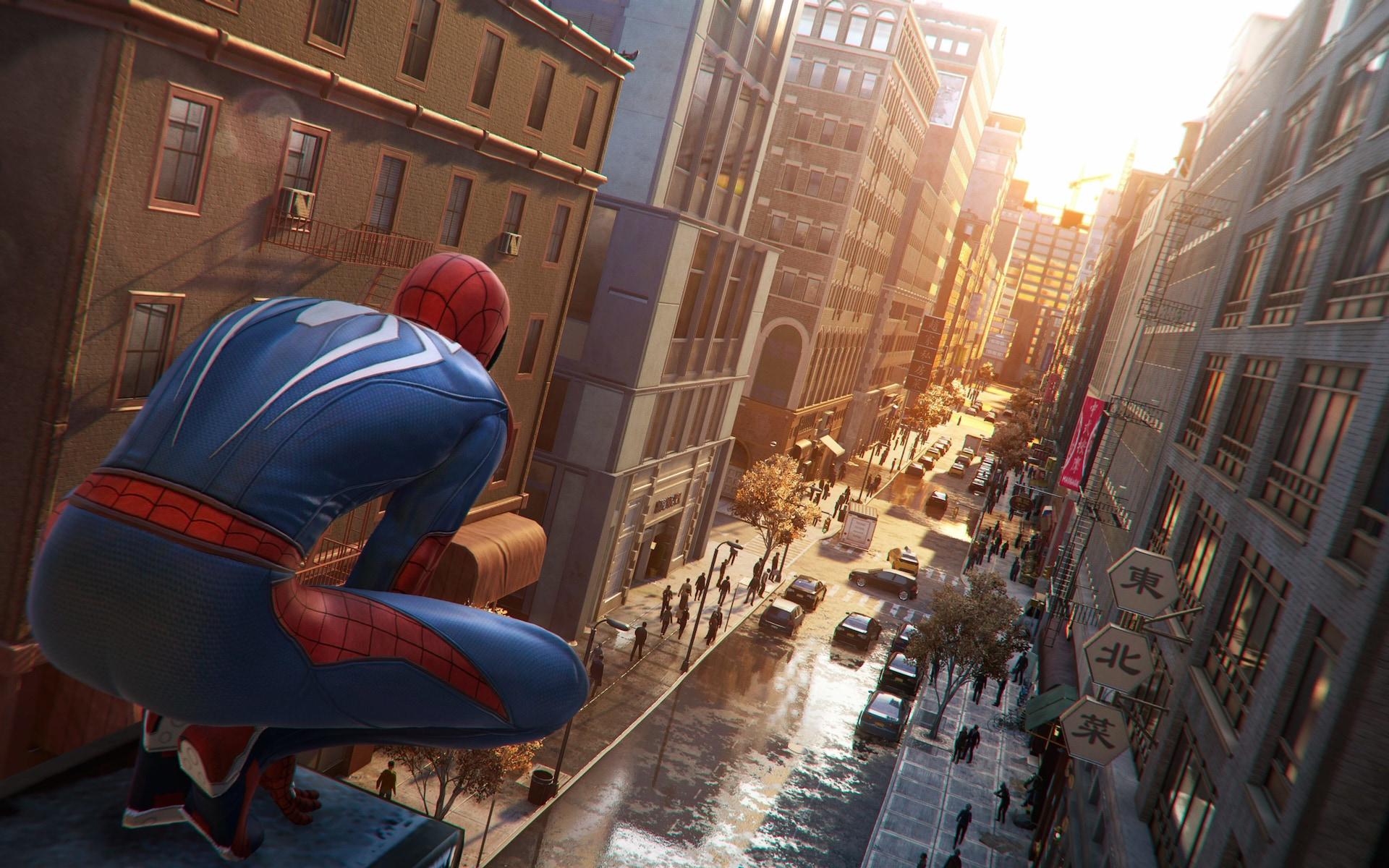 Spider Man PS4 Dvoile Ses Graphismes Via De Nouveaux