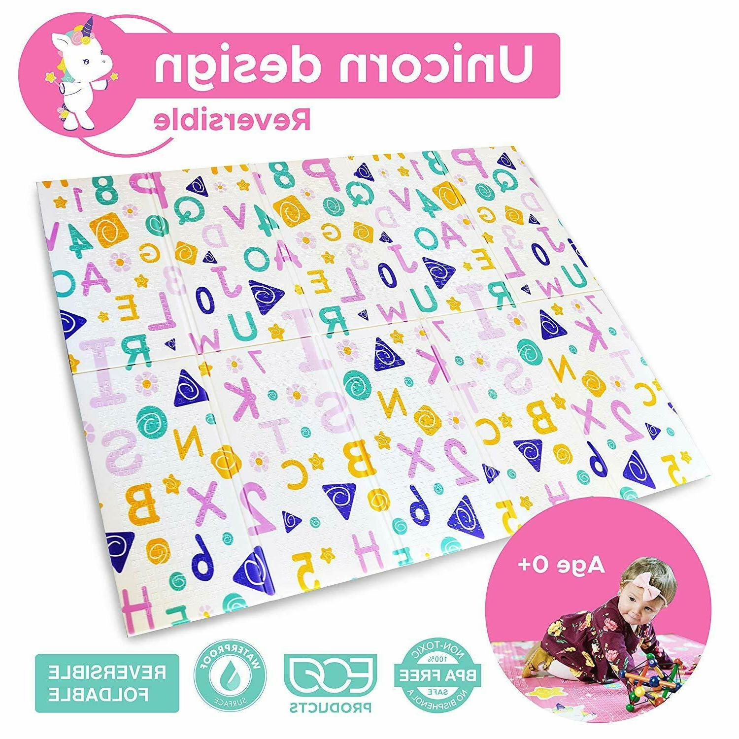 Baby Care Play Mat. Baby Foam Playmat. Foldable