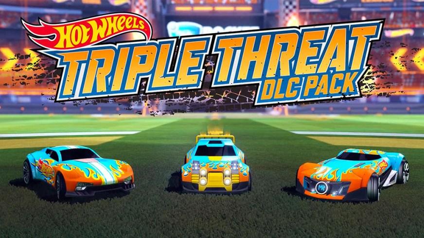 Rocket League - Hot Wheels Triple Threat - Full Free ...