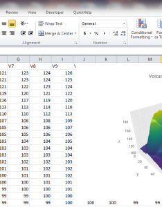 Excel also make   surface plot online with chart studio and rh helpot