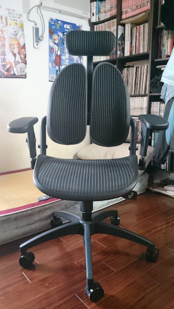 被黑面子萌殺的黑面龍 WR-515H健康雙背網椅入手 - #lb90pa - Plurk