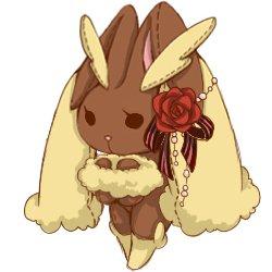 【娃娃】長耳兔娃娃 – TouPeenSeen部落格