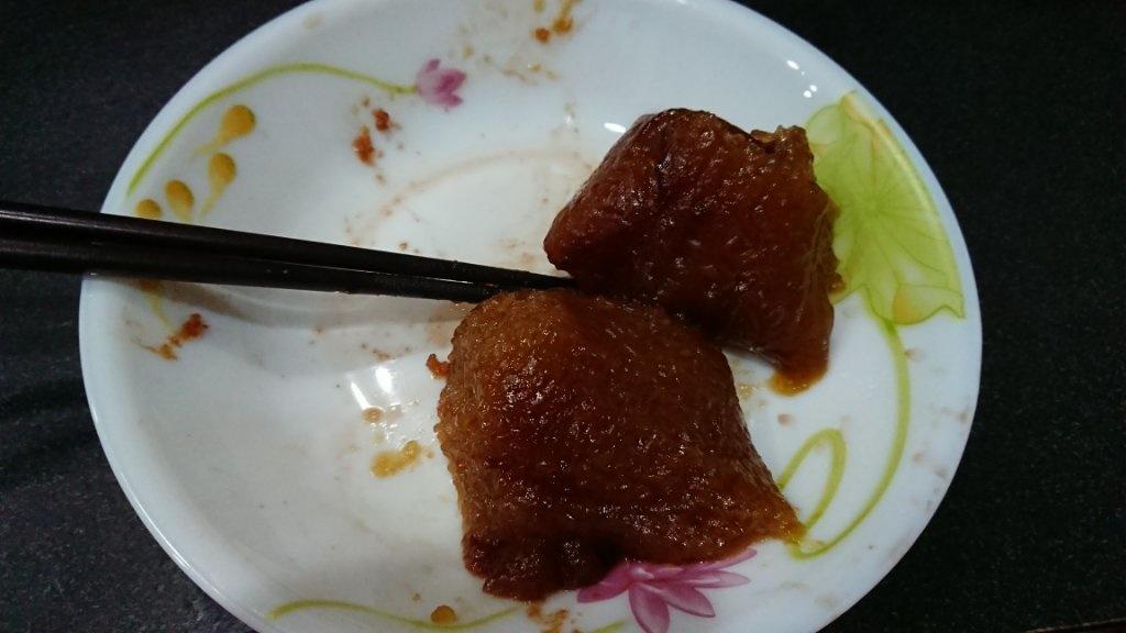 小黑@歐風蛋龍塔塔娘肥天衝 - 看到冰箱有粽子就蒸來吃結果打開後才發現是甜粽………… - Plurk