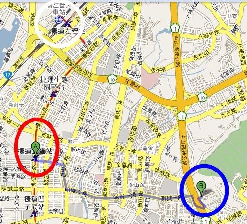 QQsuger asks 高雄市殯儀館離哪一間捷運站比較近? - #1t2xuf - Plurk
