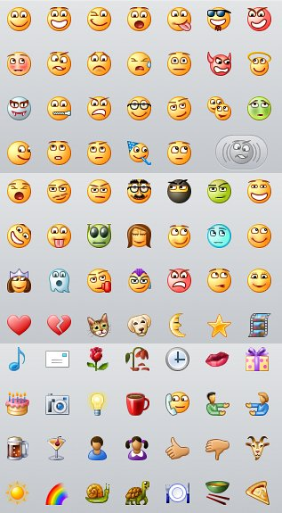 preisner 分享 iPhone上的MSN內建的表情圖案比windows的可愛多了 http://i0.wp.com/images.plurk.com/4588561_1c6e5b32d373ba8aa59c954f1525832a.j ...