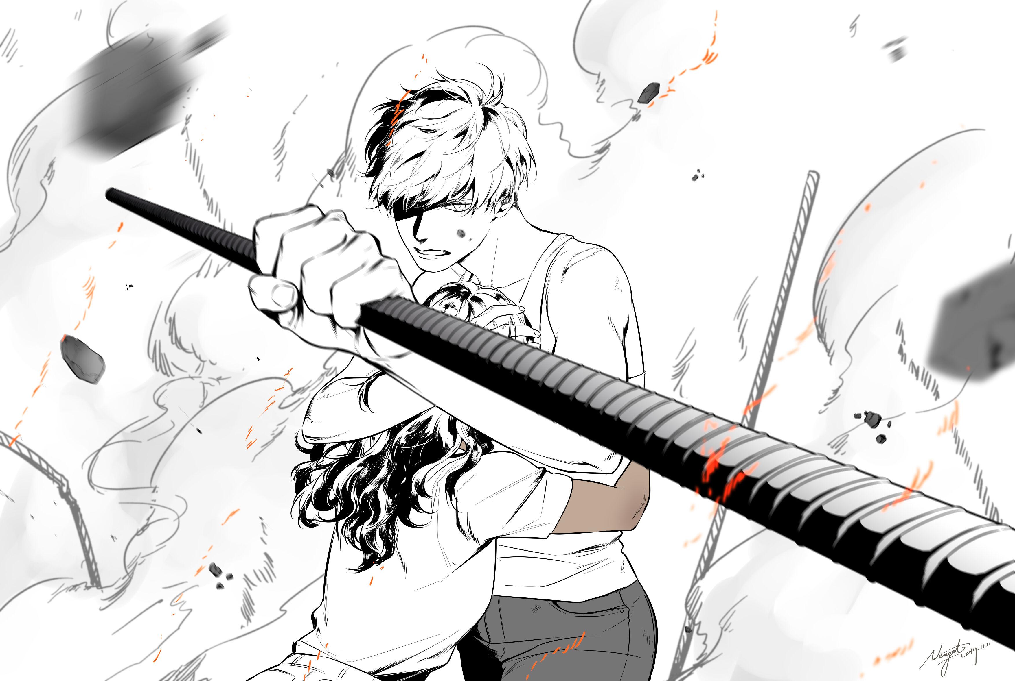 Neiigal 【塗/魔鬼終結者:黑暗宿命】#Terminator #MackenziePocky日沒畫pocky。但畫了鋼筋殼以嗎 - #nkdec3 - Plurk