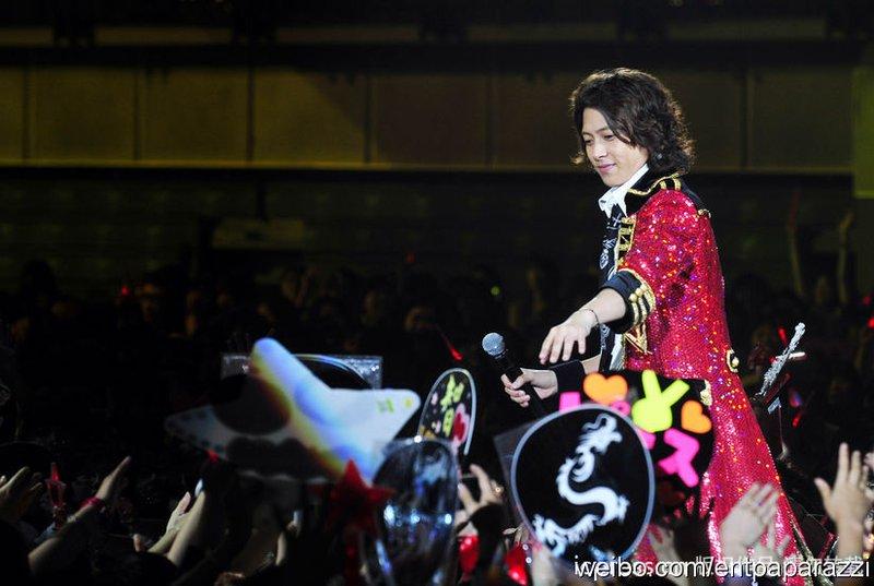 Tomorrow never knows: 110522 TOMOHISA YAMASHITA ASIA TOUR 2011 in Taipei 最終場 (前)