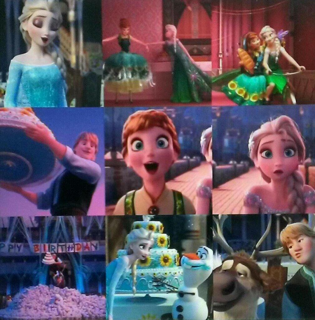 Vellori麋鹿王A.H. #冰雪奇緣# [Frozen Fever] 新預告!到46秒就可以看到了有點耐心喔 Frozen Fever Trailer !! Frozen Fever ...