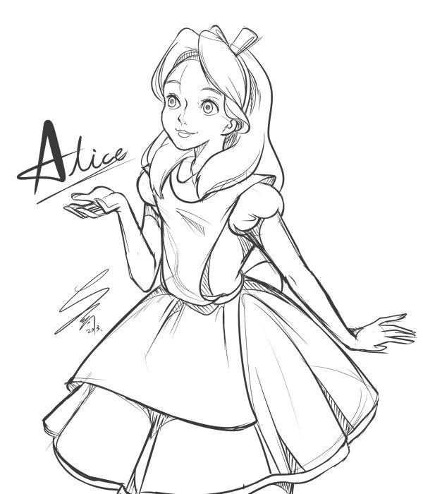 S、好冷好冷 【迪士尼】 夏嵐點的Alice。下回想挑戰年輕海賊的夢想。美人魚Ariel - #idn20s - Plurk