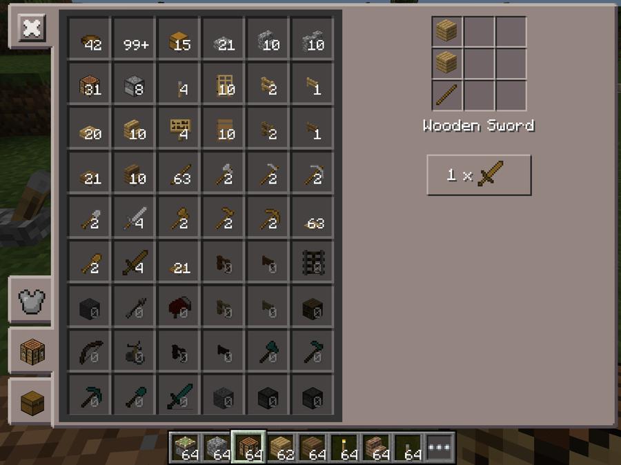 Make How Wooden I Do Hoe Minecraft