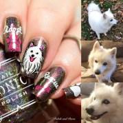 nail art introducing halo polish