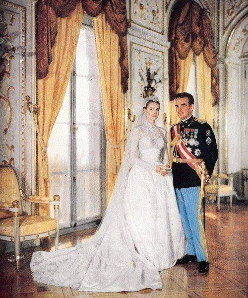 Grace Kelly to Prince Rainier III Royal Weddings Over Time