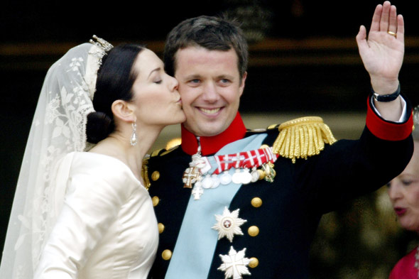 prince frederik royal wedding denmark 590bes030811 Royal Weddings  Over Time