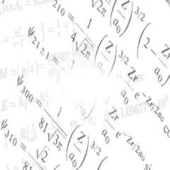 Math physics formulas black and white loopable ~ Hi Res