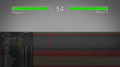 Classic Video Game Health Bar After Effects 57931445