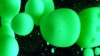 Closeup of green and black lava lamp ~ Video Clip #26139157