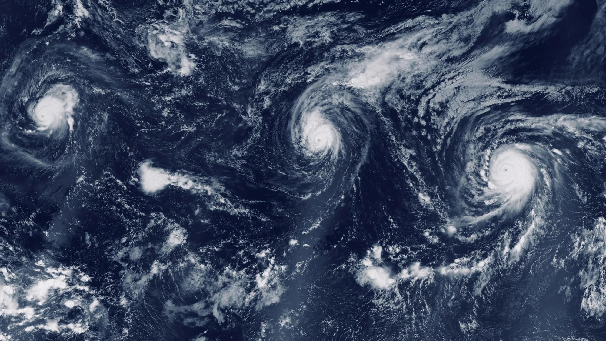 hight resolution of video eye of a large typhoon hurricane in the ocean hurricane storm tornado 84145494