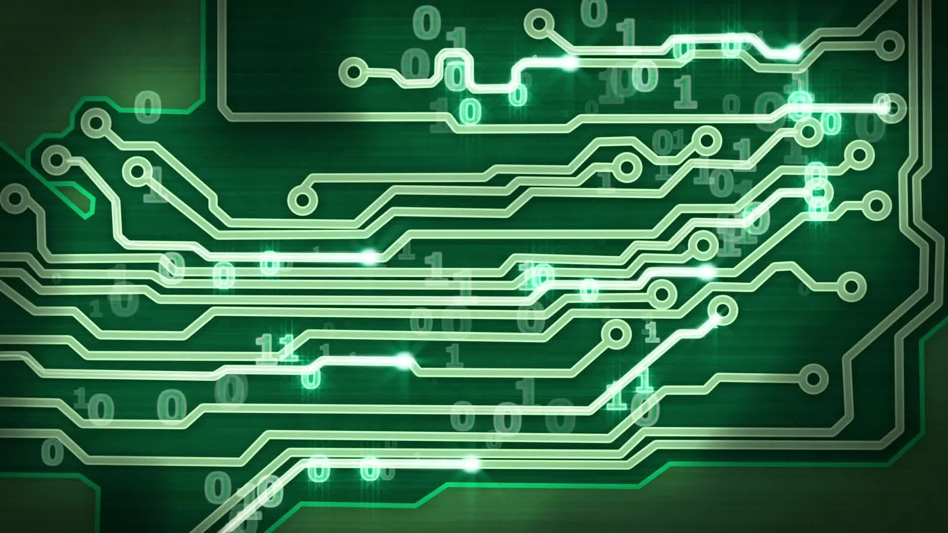 Green Circuit Board Of Computer Stock Photography Image 34606532
