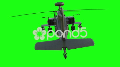 small resolution of military helicopter apache realistic animation green screen hi res 56152311