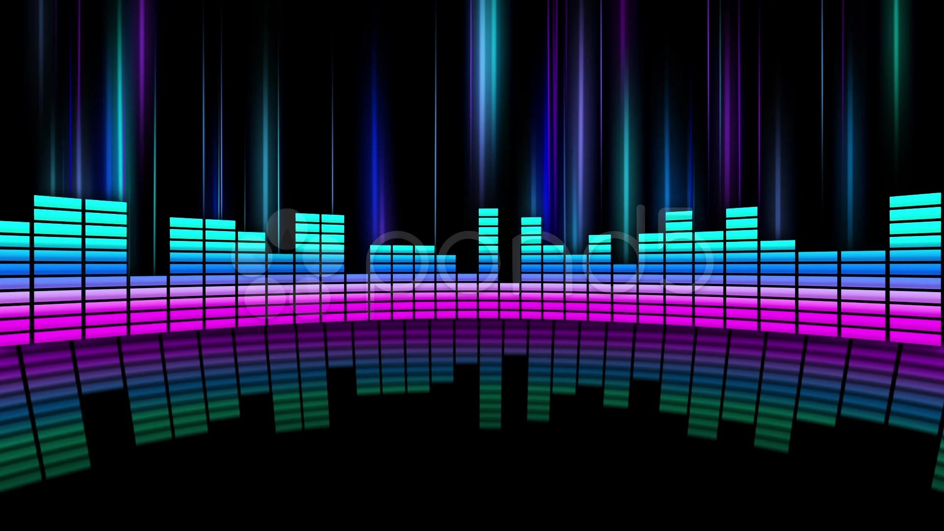3d Depth Purple Abstract Wallpapers Stock Video Neon Equalizer 04 Buy Now 37628454 Pond5