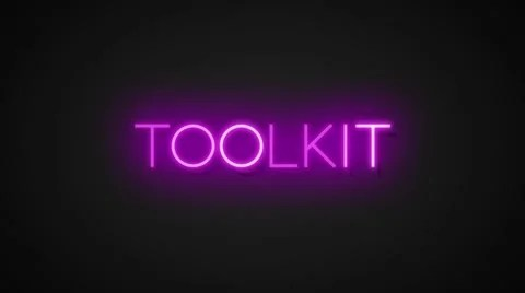 neon text effects toolkit