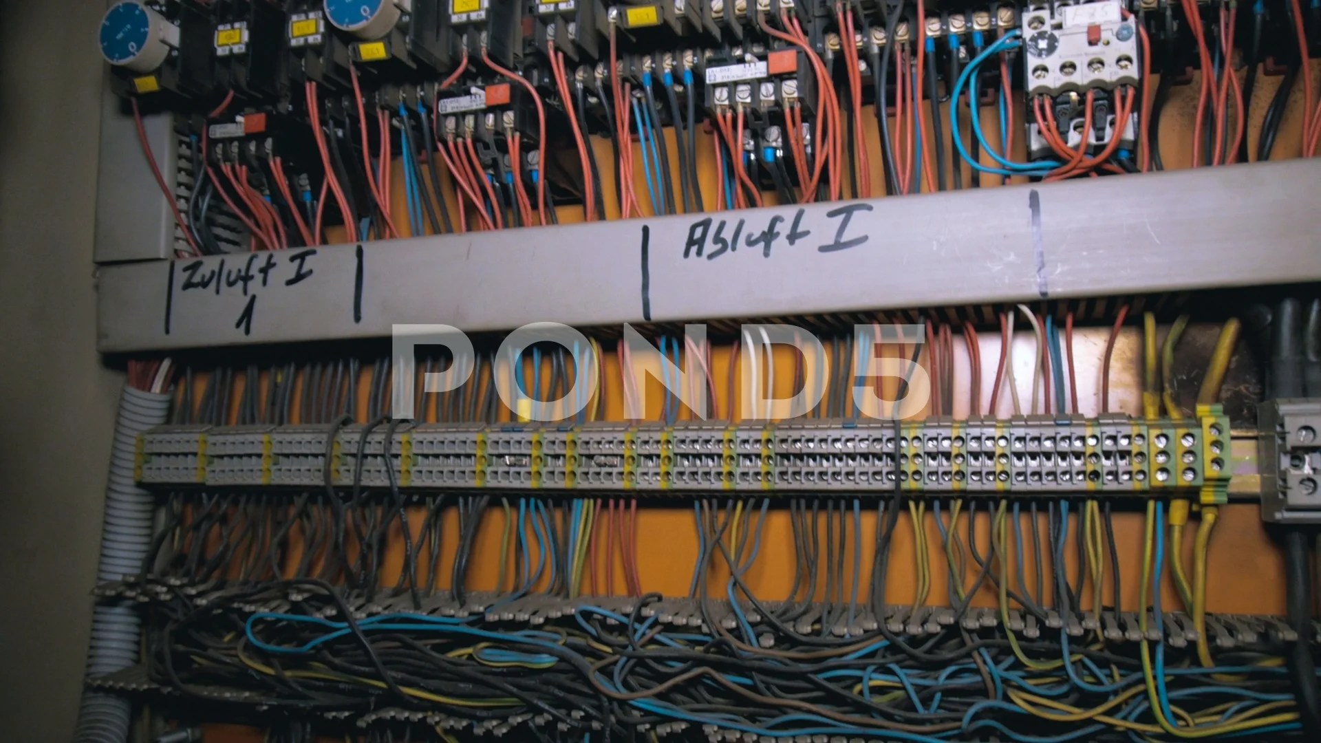 hight resolution of video old electric fuse box in abandonded lost factory in germany 97454079