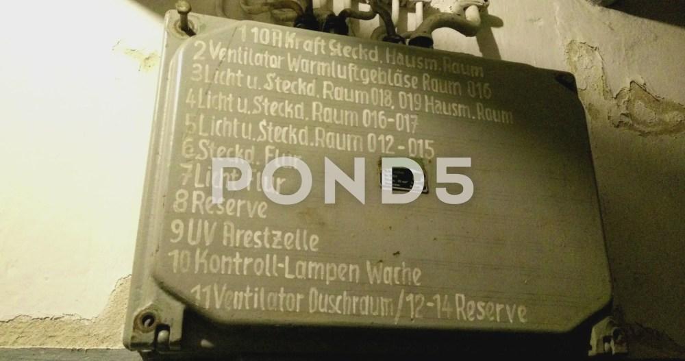 medium resolution of old german industrial fuse box video clip 65674982german fuse box 18