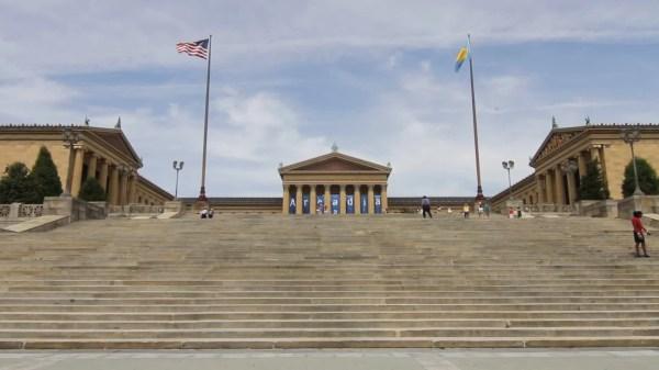 Video Philadelphia Museum Of Art Rocky Steps #12136634