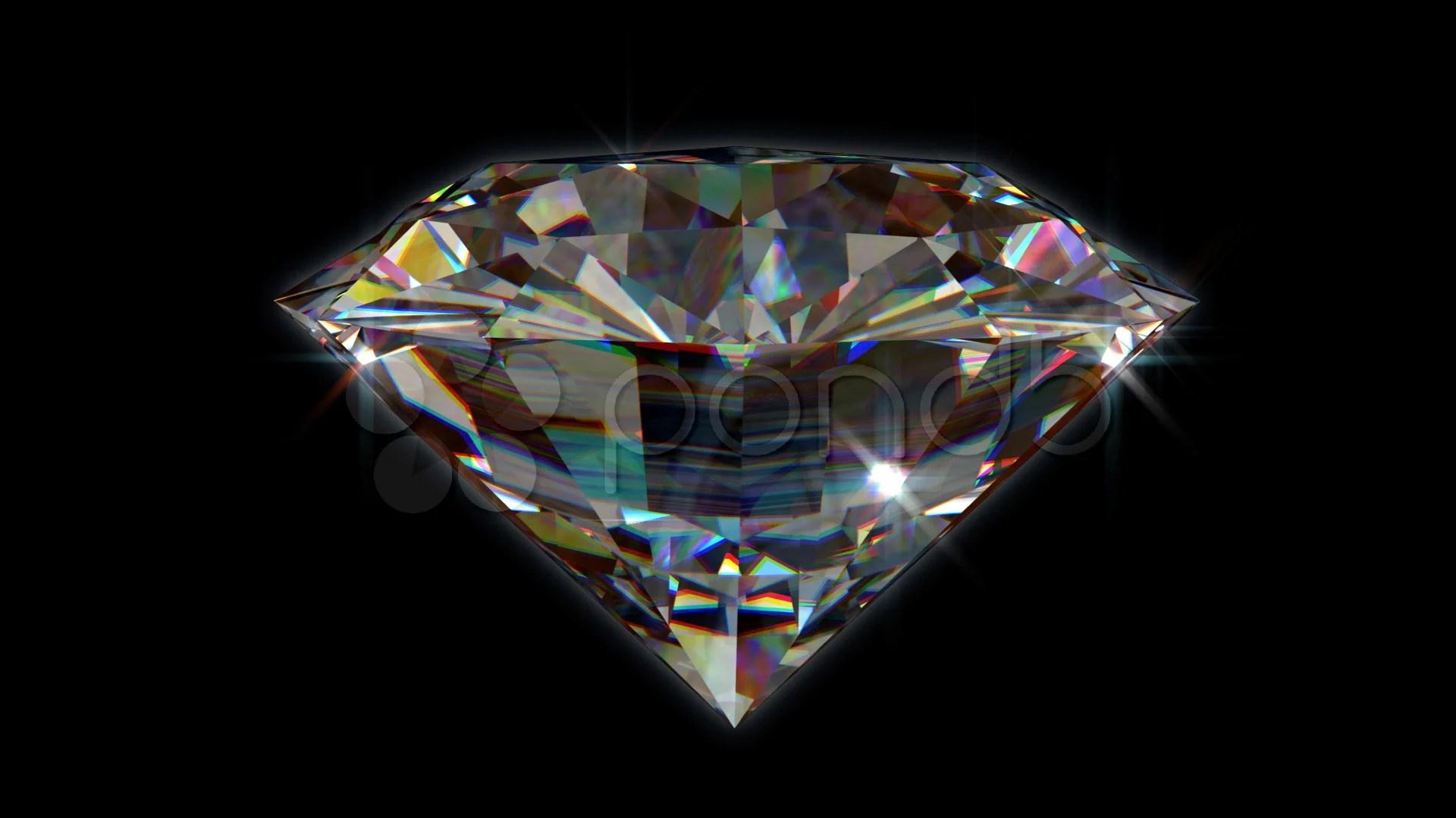 diamond stock footage royalty