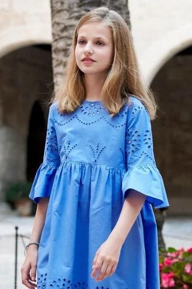 西班牙的繼承人:Princess Leonor 被稱「最美的小公主」原來是4國的混血小美人! | PopLady