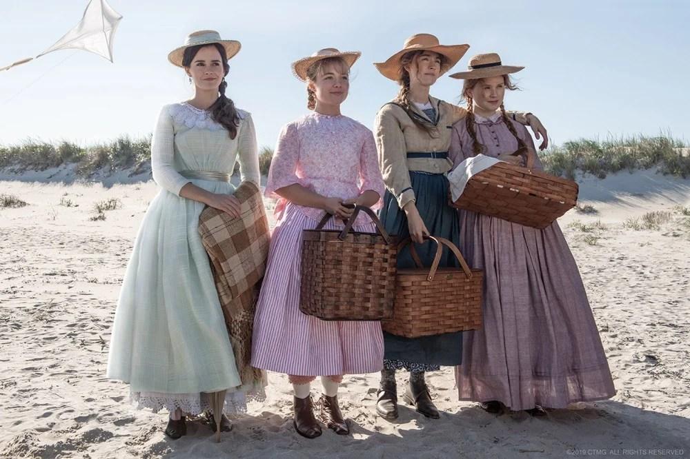 19世紀造型超典雅!《小婦人》電影還未上映已引起迴響。來細看那個時代女性流行的穿搭 | PopLady