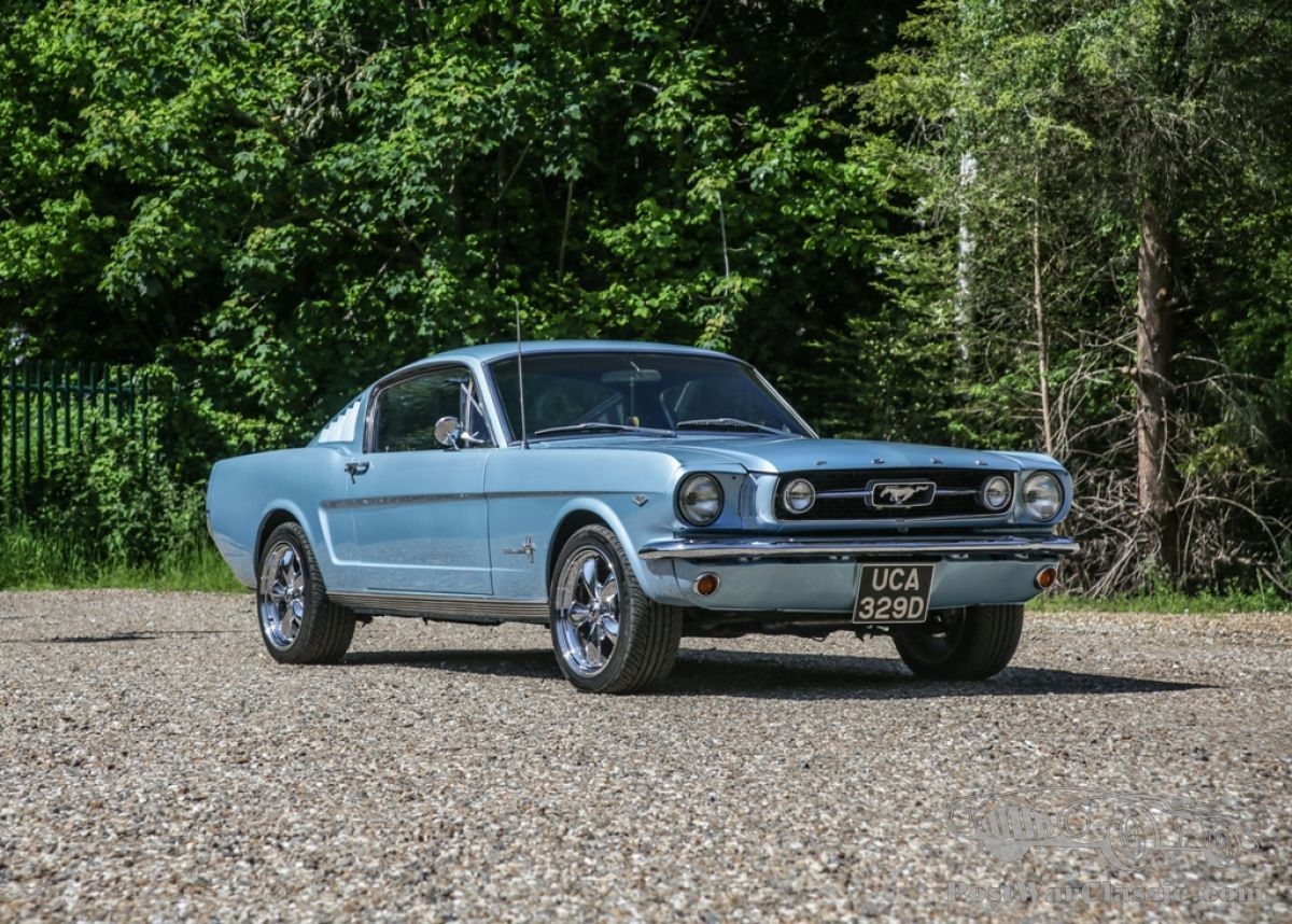 Stone mountain city of atlanta ) pic hide this posting restore restore this posting. Car Ford Mustang Fastback 1966 For Sale Postwarclassic