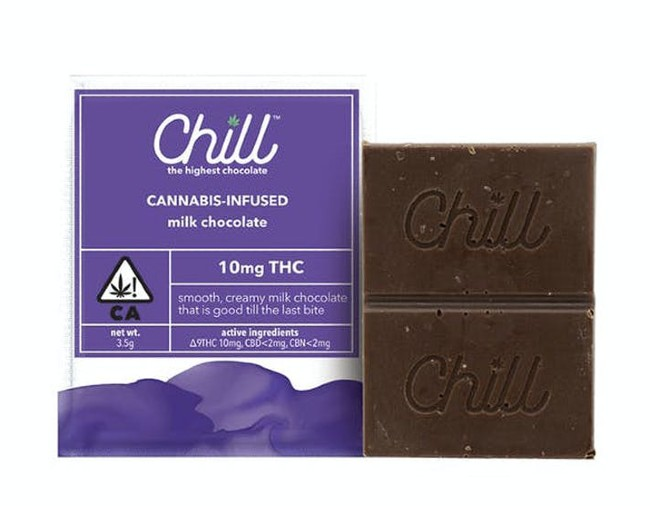 Chill Mini Chocolate bar milk chocolate