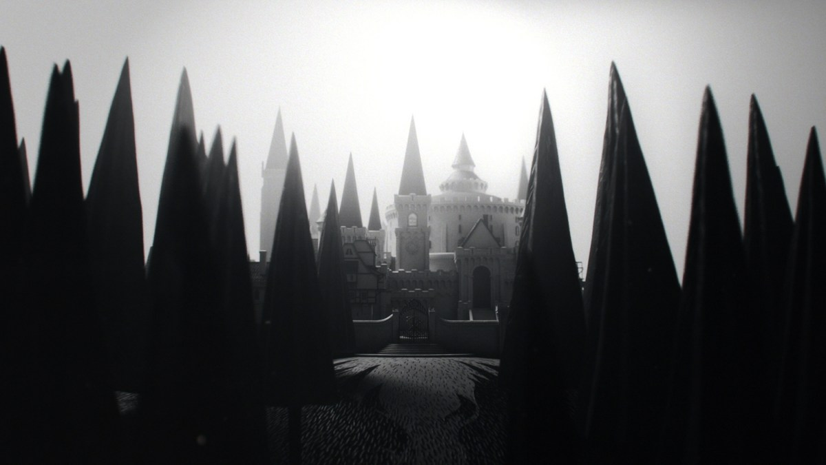 Old Dark Castle Wallpaper
