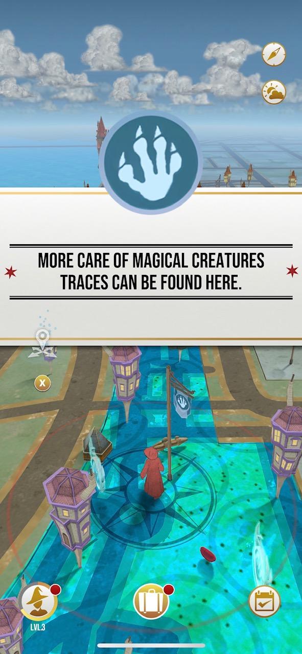 Screenshot of Wizard's Unite map